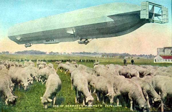 Royal Signals ... Zeppelin