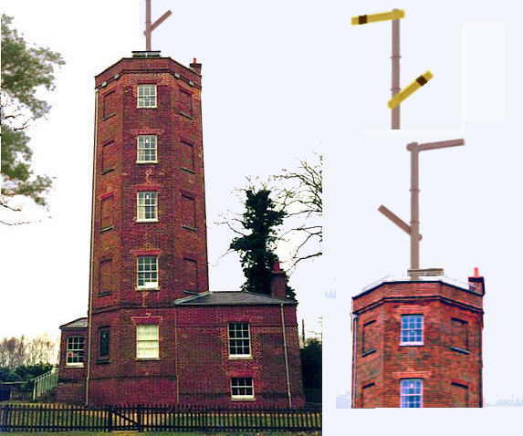 Royal Signals ... Chatley Heath Semaphore Tower